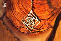 Ascension Pendant Sacred Geometry Pendant Alef Inspired Necklace Creation Necklace Creation Pendant - Wedding nacklaces (*Amazon Partner-Link)