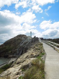 OVER THE RUSH : Castle Point Lighthouse