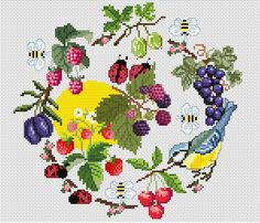 Free Cross Stitch Patterns by AlitaDesigns: Spring has returned...