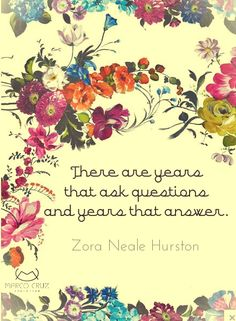 """Zora Neale Hurston - a pearl from the Harlem Renaissance - read her if you haven't already, especially """"Their Eyes Were Watching God"""""""