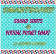 "Smartboard Interactive Word Sorts & ""Pocket Chart"""