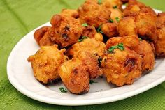Creole Corn Fritters