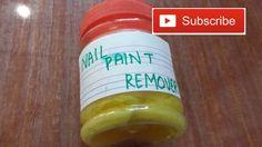 DIY Nail Paint Remover
