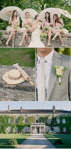 French Countryside Wedding by Mademoiselle Fiona Wedding Photography | Style Me Pretty