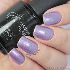 Magically Polished |Nail Art Blog|: @madam_glam: Sweet Lavanda