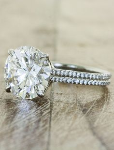 engagement rings that are out of this world unique // round brilliant diamond with a double band Best Engagement Rings, Wedding Engagement, Wedding Bands, Wedding Ring, Dream Wedding, Solitaire Engagement, Charm Armband, Before Wedding, Bagan