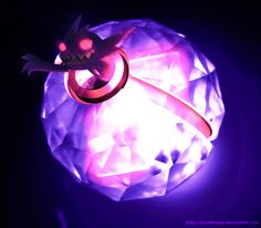 The Pokeball of Mega Sableye by Jonathanjo