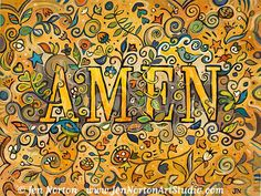 A collection of paintings inspired by prayer and other inspirational expressions.