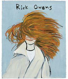 Hair at Rick Owens.T offers a short primer on how to get the best hairstyles from the fall collections.Illustration by Konstantin Kakanias...
