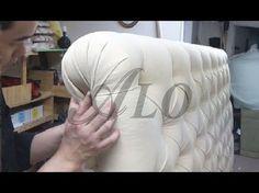 DIY : Faire une tête de lit capitonnée - YouTube