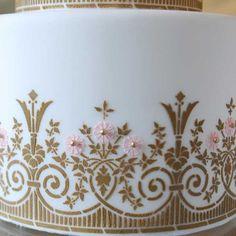 art deco sugar paste cutters | home stencils deco garden stencil