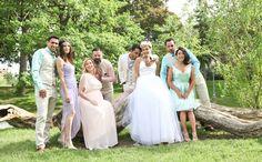 Bridesmaid- Le Château Mariage: des looks pour votre bridal party au complet! | Fashion is Everywhere