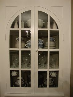 Built In Hutch Curio Cabinets Buffets Wall Ideas China