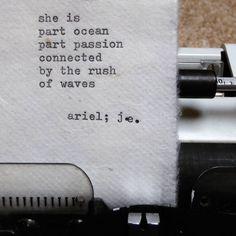 Ariel poem by ©judyelisa