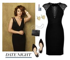 """Hot Date Night Style - Polyvore Contest"" by helen5526 ❤ liked on Polyvore featuring Hervé Léger, DateNight, polyvorestyle and polyvorecontest"