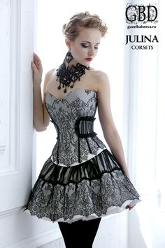 I know it's a corset, but I thought it was a dress and that's how I'd wear it. So =P !!!