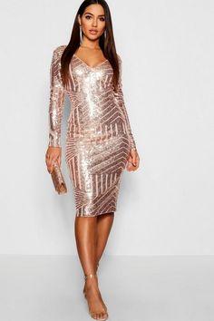 Black Dress Outfits, Sexy Dresses, Cute Dresses, Elegant Dresses, Party Dresses, Formal Cocktail Dress, Boohoo Dresses, Date Night Dresses, Sequin Party Dress