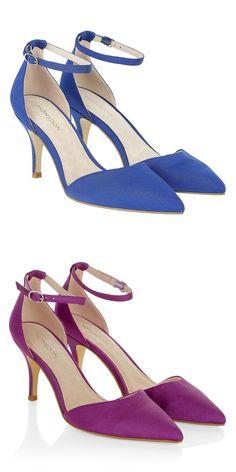 Love the low heel.
