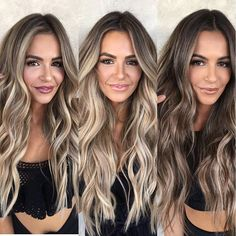 Long Wavy Ash-Brown Balayage - 20 Light Brown Hair Color Ideas for Your New Look - The Trending Hairstyle Brown Blonde Hair, Brown Hair With Highlights, Light Brown Hair, Brown Hair Colors, Brunette Hair, Dark Hair, Ashy Blonde, Dark Brown, Brown Hair Trends