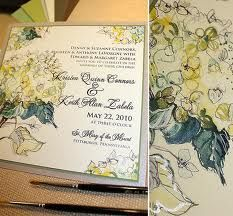 Watercolor hydrangeas wedding invitations