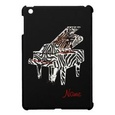Zebra Piano ~ iPad Mini Plastic Case Cover For The iPad Mini
