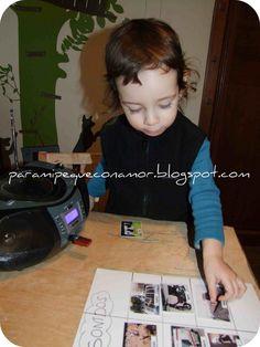 Para mi peque con amor: Sonidos e imágenes... ¡le encanta!