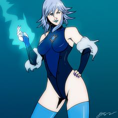 Killer Frost by SoDrawnOut Dc Comics Girls, Dc Comics Art, Dc Comic Books, Comic Art, Killer Frost, Dc Comics Characters, Marvel Vs, Dc Heroes, Comic Character