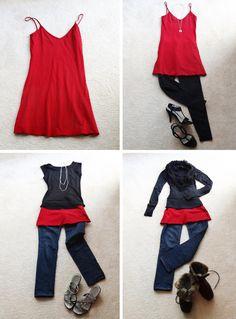 Kreative Kleidungsstückkombinationen für jeden Anlass und jede Jahreszeit // Creative wardrobe combinations for different occasions and seasons