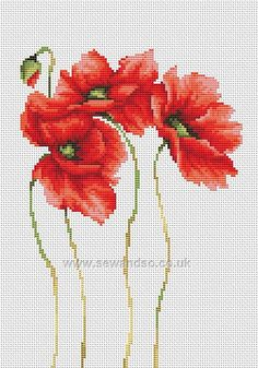 mucha flowers poppies - Google Search