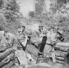 British 99th Light AA Regiment, Cassino, Italy, 12 May 1944, as the Allies launch Operation Diadem, the drive to Rome. (Imperial War Museum)