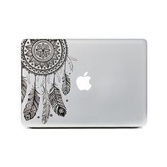 iCasso Dream Catcher Removable Vinyl Decal Sticker Skin for Apple... ($9.99) ❤ liked on Polyvore featuring accessories, electronics, tech, computers, other and filler