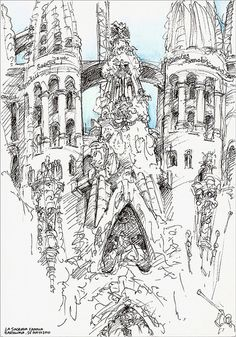 La Sagrada Familia (Barcelona) by szaza