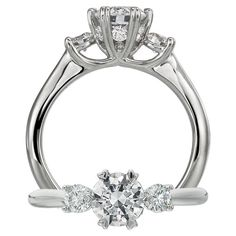 Ritani Setting Engagement Ring style 1R3281