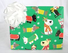 Dogs In Sweaters and Scarves Childrens by CMWrapNShipSupply