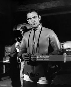News Photo : Actor Sean Connery as James Bond in a scene from...