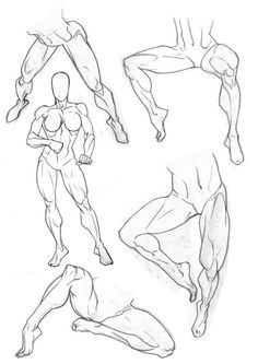 I tried to do a figure drawing the other day that was kinda viewed from above and came to the realisation that I really quite suck at legs. I mean, legs are tough. Especially drawn front on, foresh...
