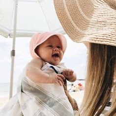 The sweetest Briar babe from our Instagram page! Shop our collection of summer bonnets by clicking through!