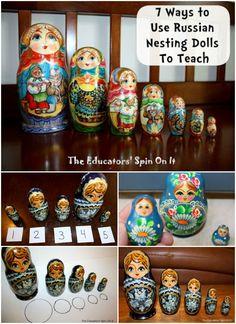 Russian Nesting Dolls to Teach
