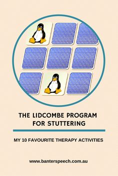 Specific activity ideas for parents when delivering the Lidcombe Program for stuttering to their children.
