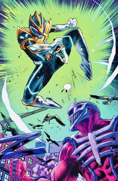 Power Rangers Poster, Power Rangers Fan Art, Power Rangers Comic, Power Rangers 2017, Dc Comics, Black Comics, Dino Rangers, Black Cartoon Characters, Paranormal