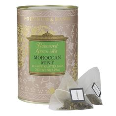 Moroccan Mint, 20 Large Leaf Tea Bags found on Polyvore