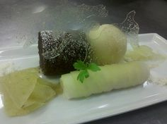 Cider Sorbet Dehydrated Anglaise.