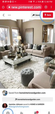 Decorate Apartment, Living Room Designs, Home And Garden, Couch, Furniture, Home Decor, Settee, Decoration Home, Sofa