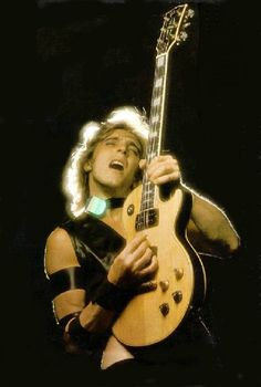Mick Ronson Sorry, Mr. The Edge. This man is my favorite guitarist. He died heartbreakingly young. I wonder if he and David have found each other in the afterlife yet...