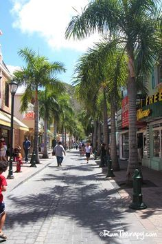 Front Street, Philipsburg, St. Maarten. Went shopping here 2x. Once with 6 boys, lol, then with my mom.