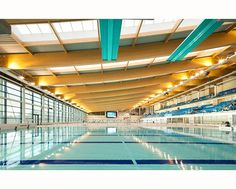 Remember when it was first built and Central Elementary students went there to swim :) McAdam Design, Bangor Aurora Aquatic Centre, Architectural Photographer, Belfast, Northern Ireland. Architectural Photographer Belfast Northern Ireland - Donal McCann