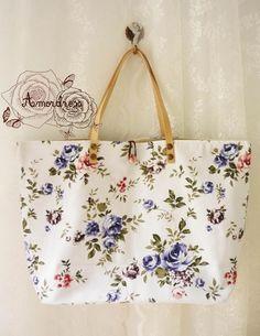 9e5998c5548 Floral Tote Bag Printed Canvas Bag Genuine Leather Printed Tote Bags,  Floral Tote Bags,