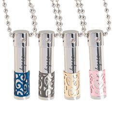 The Essential Oil Diffuser Necklace is a great way to envelop yourself in the multitude of healing benefits aromatherapy has to offer. Aromatherapy is an ancient healing art that addresses not only th Essential Oil Bottles, Essential Oil Uses, Essential Oil Diffuser, Diffuser Necklace, Diffuser Jewelry, Bottle Necklace, Pendant Necklace, Aromatherapy Oils, Doterra Essential Oils