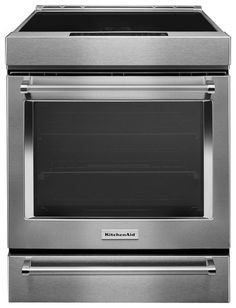 Self-Cleaning Slide-In Electric Induction Convection Ra… KitchenAid – Cu. Self-Cleaning Slide-In Electric Induction Convection Range – Stainless steel Kitchenaid, Ranger, Cute Small Houses, Top Blenders, Slide In Range, Induction Stove, Smeg