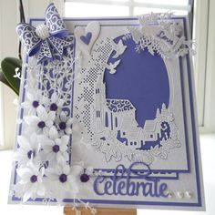 Made by Julie Woolston - I have used the Melded Church die, amazing dies love them